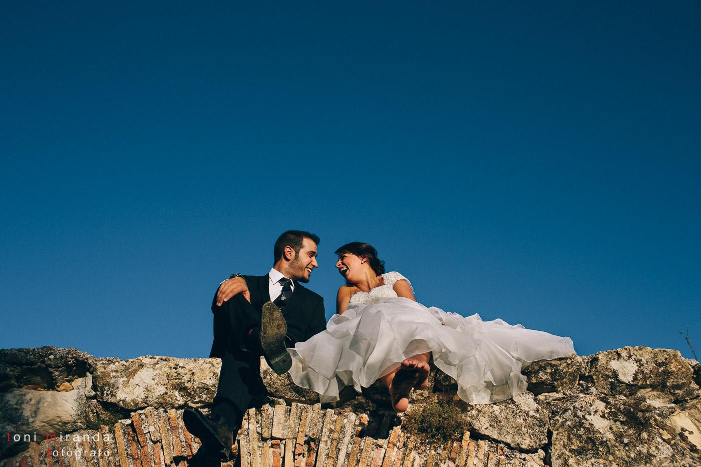 postboda en montaña de alicante poblado morisco