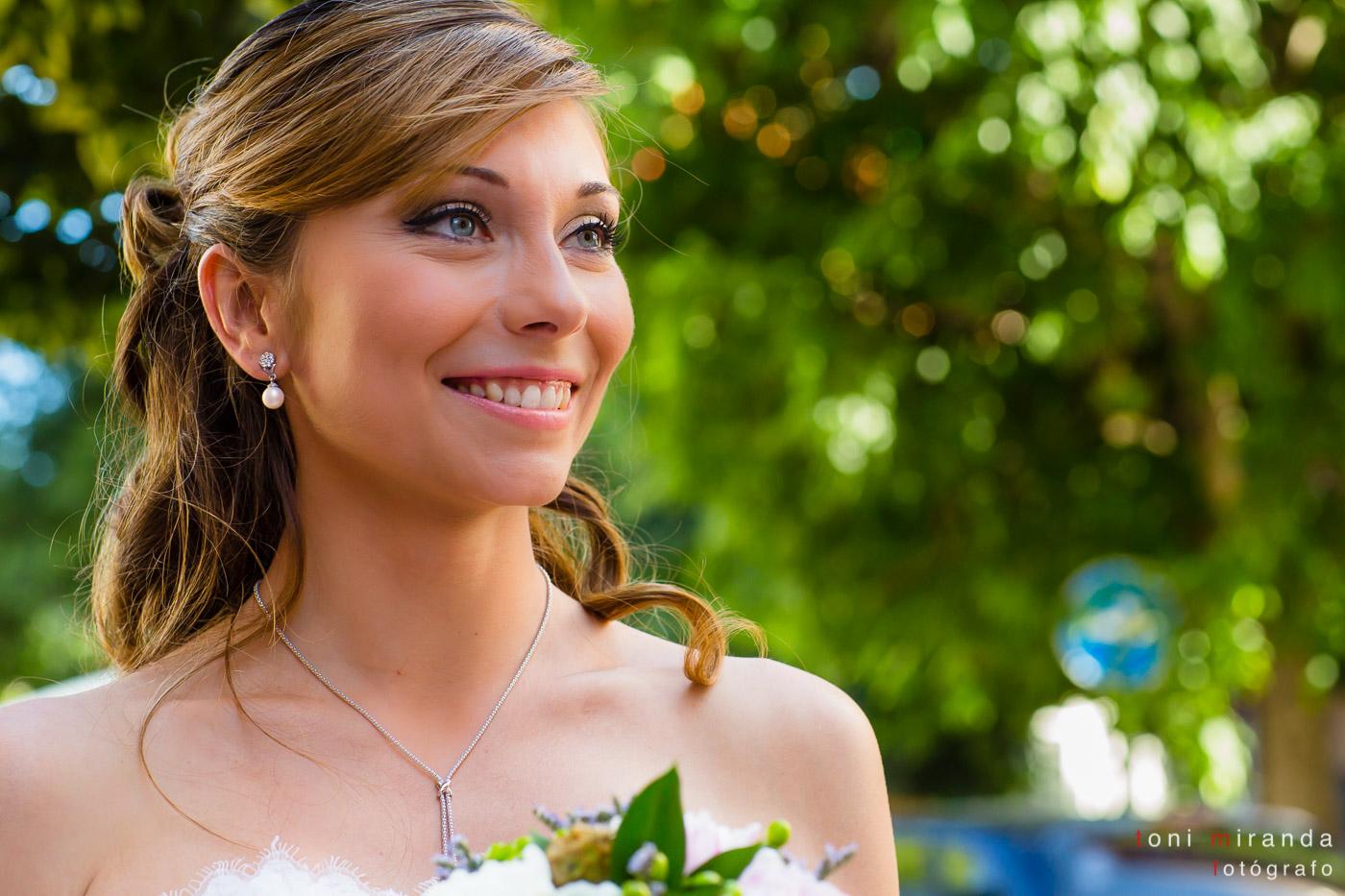 retrato de novia de Alcoy