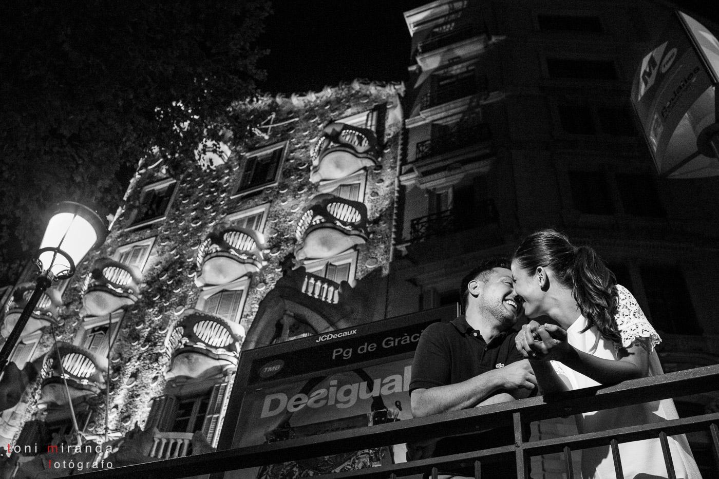 preboda passeig de gracia barcelona